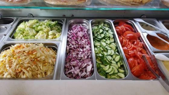 Salat-Theke